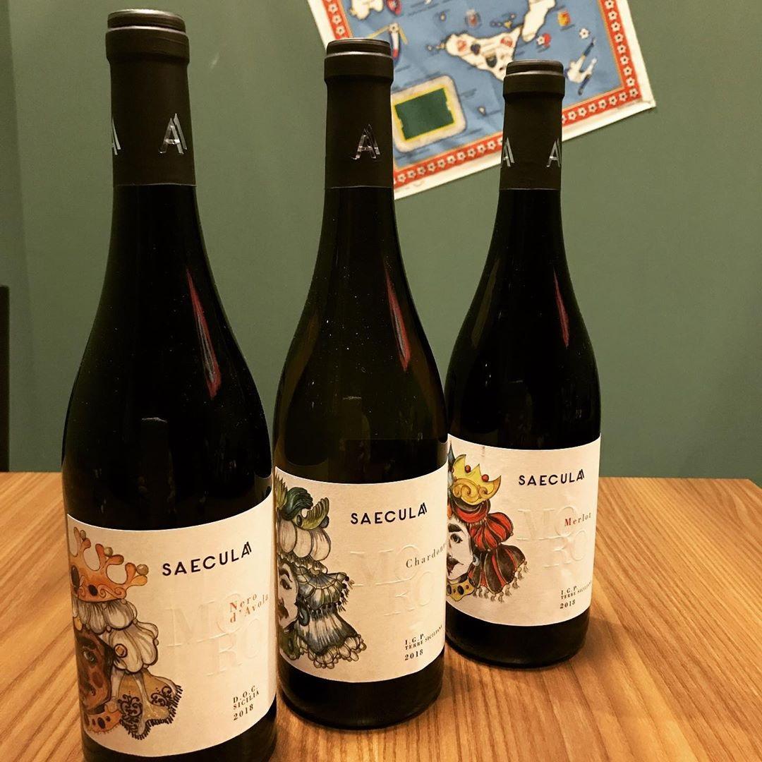 イタリアワイン saeculaシリーズ入荷