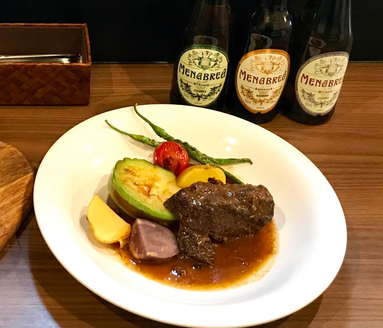 鹿児島黒牛ほほ肉の赤ワイン煮1